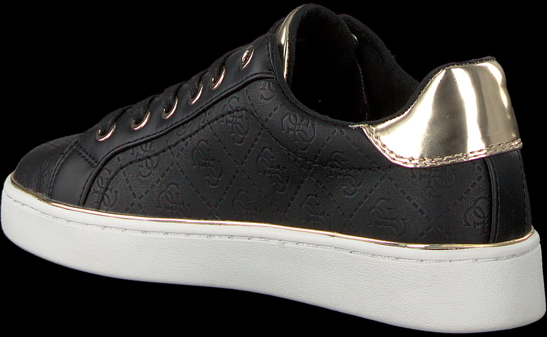 Zwarte GUESS Sneakers BECKIE Omoda.nl