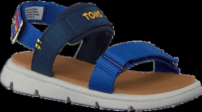 Blauwe TOMS Sandalen RAY  - large