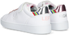 Witte BENETTON Lage sneakers PENN CRACK VELCRO  - small