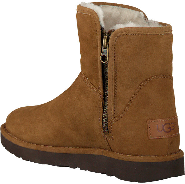 Camel UGG Vachtlaarzen ABREE MINI - large