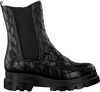 Zwarte NOTRE-V Chelsea boots 10B-201  - small