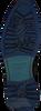 Blauwe FLORIS VAN BOMMEL Veterboots 10506  - small