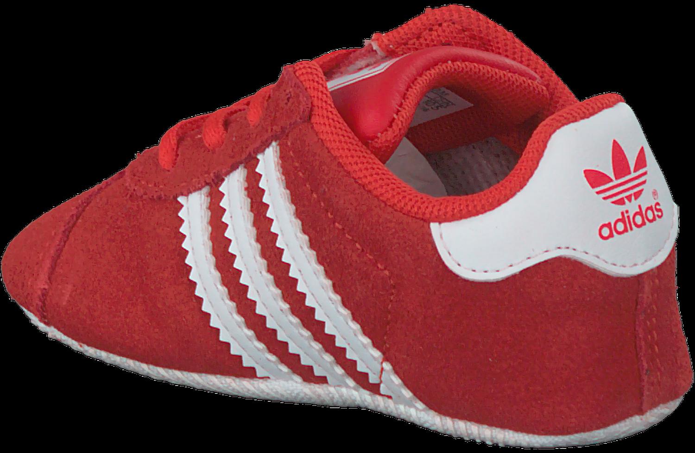 Rode ADIDAS Babyschoenen GAZELLE CRIB | Omoda