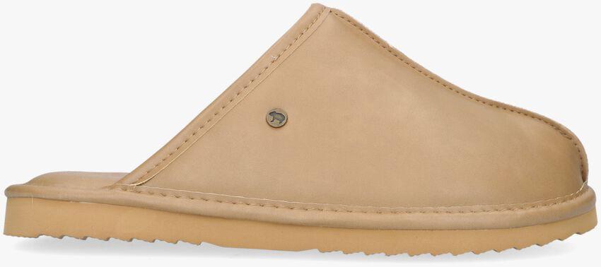 Bruine WARMBAT Pantoffels BARRON  - larger