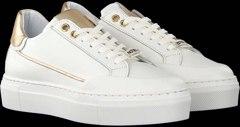 Witte NOTRE-V Lage sneakers J5321
