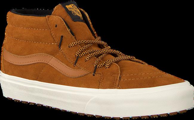 Cognac VANS Sneakers SK8 MID REISSUE GHILLIE - large