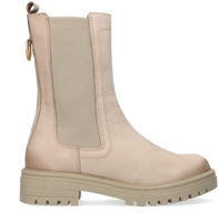 Beige OMODA Chelsea boots LPMONK-05  - medium