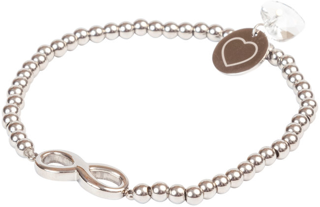 Zilveren EMBRACE DESIGN Armband VEERLE - large