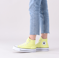 Gele CONVERSE Hoge sneaker CHUCK TAYLOR ALL STAR LIFT HI  - medium