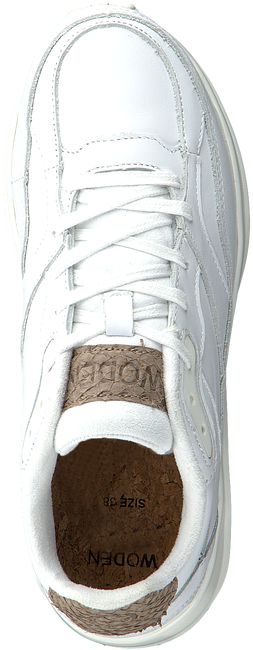 Witte WODEN Sneakers SOPHIE LEATHER  - large