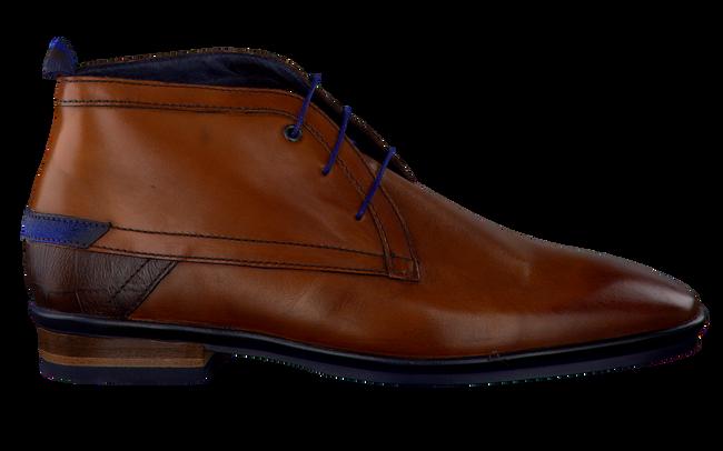 Cognac FLORIS VAN BOMMEL Nette schoenen 10334  - large