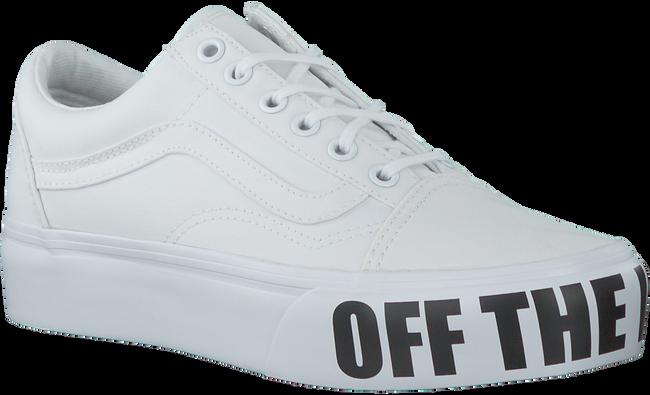 Witte VANS Sneakers OLD SKOOL PLATFORM - large