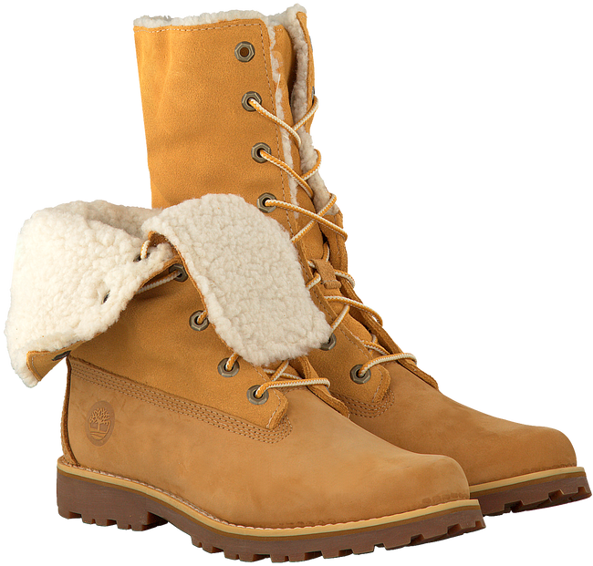 Camel TIMBERLAND Enkelboots 6IN WP SHEARLING BOOT  - large