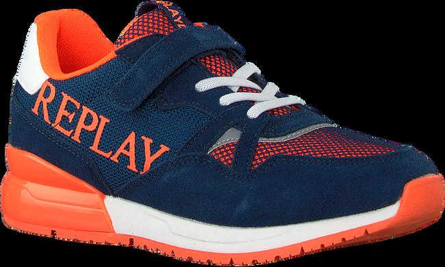 Blauwe REPLAY Lage sneakers CARDIFF JR  - large