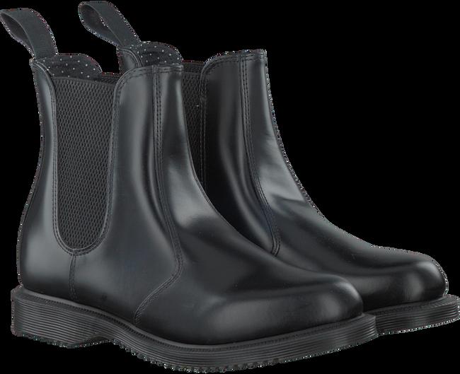 Zwarte DR MARTENS Chelsea boots FLORA  - large