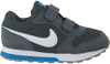 Grijze NIKE Sneakers MD RUNNER 2 KIDS LACE  - small