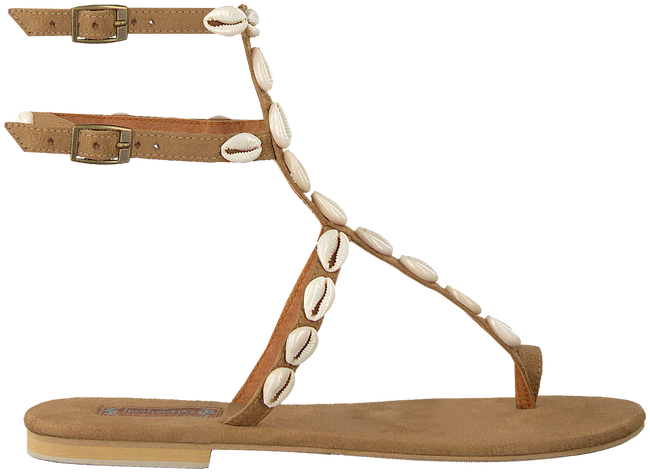 Beige HOT LAVA Sandalen DOUBLE SHELL - large