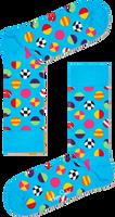 Blauwe HAPPY SOCKS Sokken CLASHING DOT SOCK  - medium