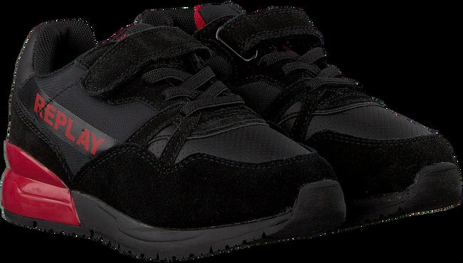 Zwarte REPLAY Sneakers KAN  - large