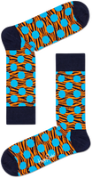 Blauwe HAPPY SOCKS Sokken TIGER DOT SOCK  - medium