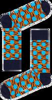 Blauwe HAPPY SOCKS Sokken TIGER DOT SOCK  - medium