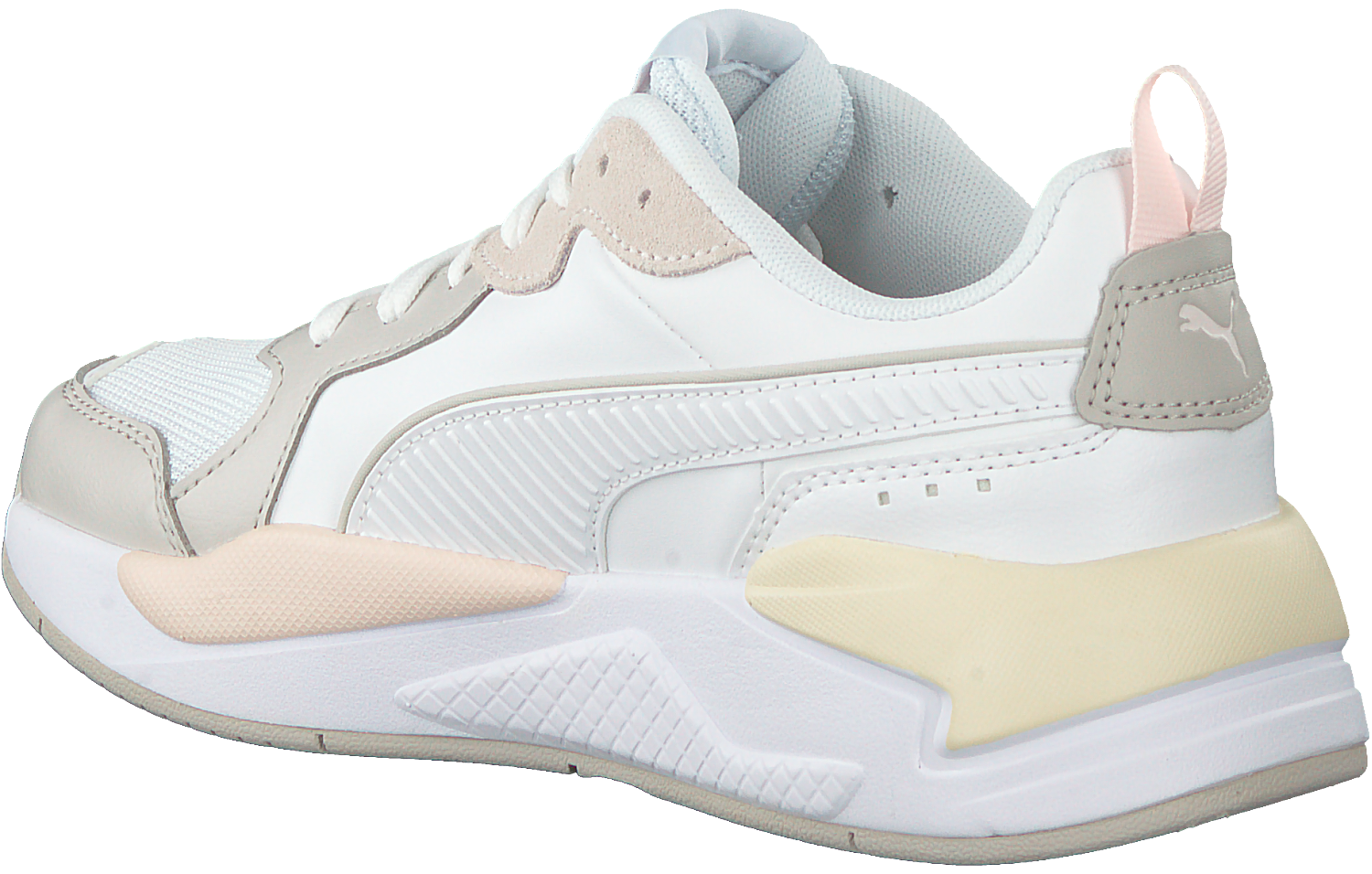 Witte PUMA Lage sneakers X-RAY GAME WMN'S | Omoda