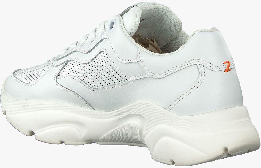 Witte HUB Lage sneakers ROCK-W - larger