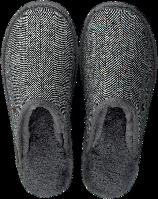 Grijze WARMBAT Pantoffels CLASSIC HERRINGBONE  - large