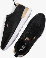 Zwarte PUMA Lage sneakers PUMA R78 WNS METALLIC POP  - medium