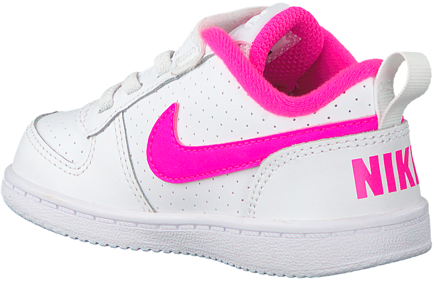 Witte NIKE Sneakers COURT BOROUGH LOW (KIDS) - larger