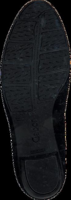 Zwarte GABOR Enkellaarsjes 524.1  - large