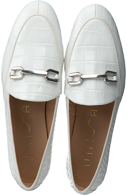 Witte UNISA Loafers DALCY  - large