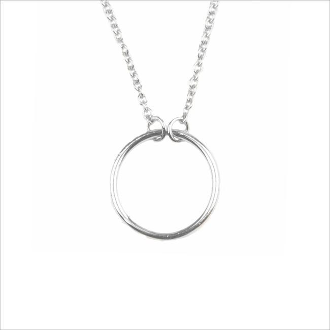 Zilveren ATLITW STUDIO Ketting SOUVENIR NECKLACE CIRCLE - large
