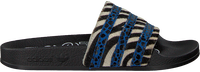Zwarte ADIDAS Slippers ADILETTE DAMES - medium