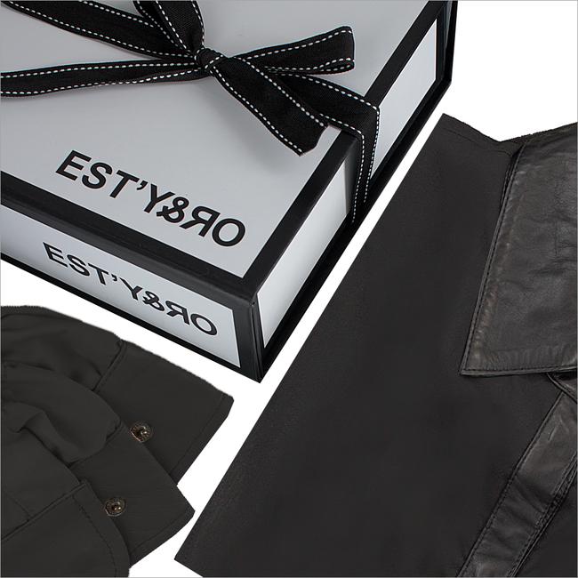 Zwarte EST'Y&RO Kraagje EST'109 - large