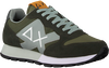 Groene SUN68 Lage sneakers JAKI SOLID PATCH  - small