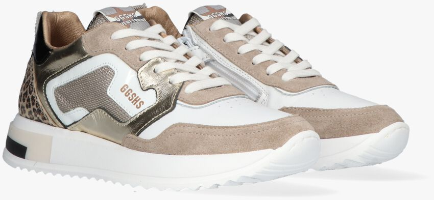 Witte GIGA Lage sneakers G3672  - larger