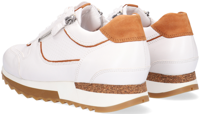Witte HASSIA Lage sneakers MADRID  - large