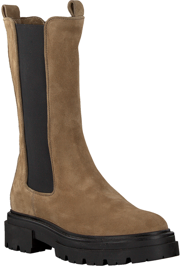Camel NOTRE-V Chelsea boots 01-611 - larger