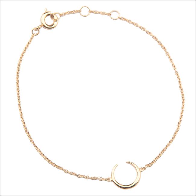 Gouden ATLITW STUDIO Armband SOUVENIR BRACELET HORN - large