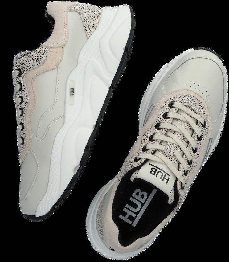 Beige HUB Lage sneakers ROCK-W  - larger