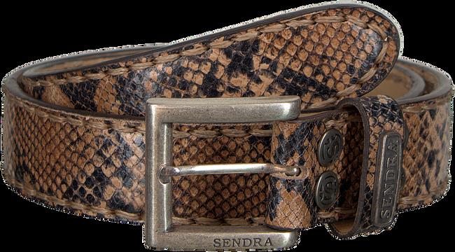 Bruine SENDRA Riem 8563  - large