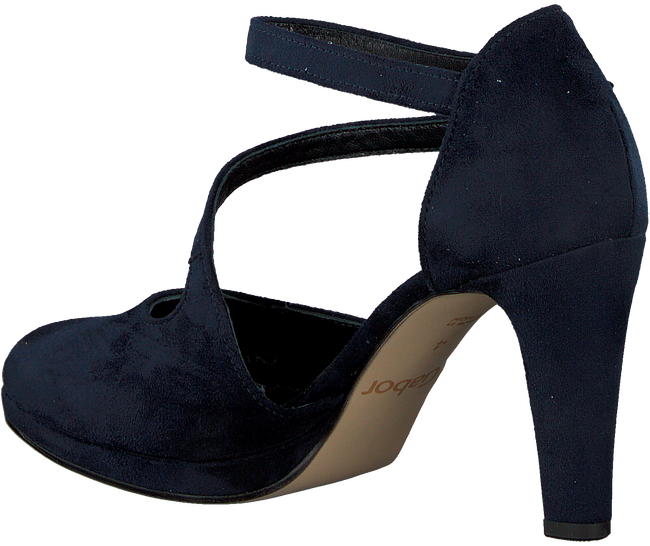 Blauwe GABOR Pumps 370.1 - large