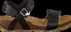 Zwarte RED-RAG Sandalen 79198  - small