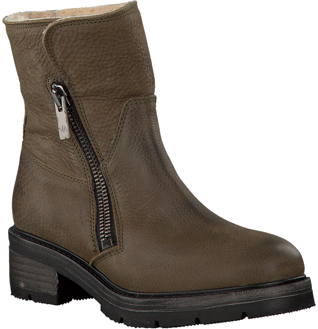 Taupe VIA VAI Biker boots 4932119  - large