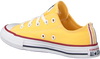 Gele CONVERSE Lage sneakers CHUCK TAYLOR ALL STAR OX KIDS  - small