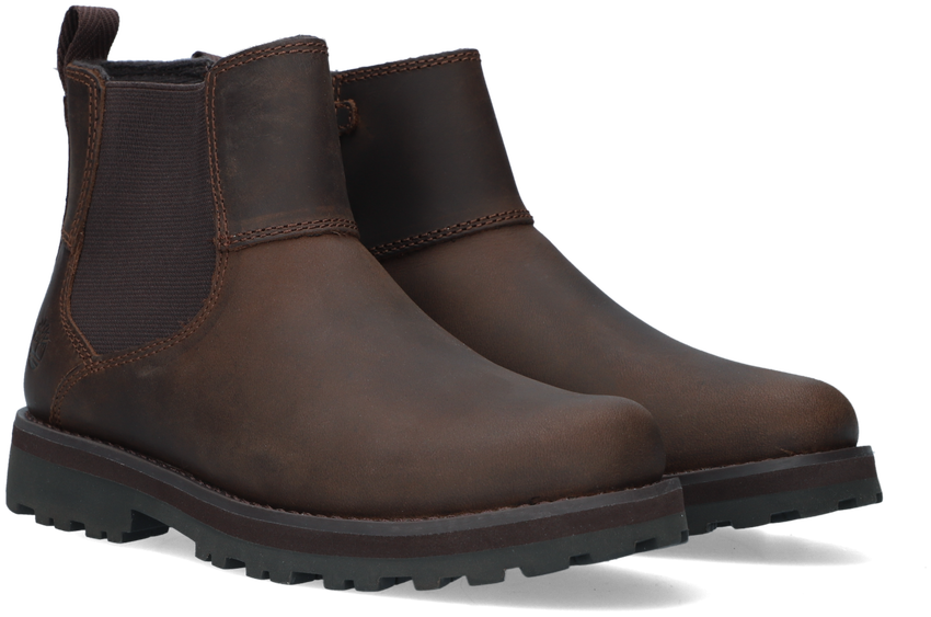 Bruine TIMBERLAND Chelsea boots COURMA KID  - larger