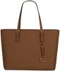 Cognac MICHAEL KORS Shopper T Z TOTE - small