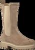 Beige VIA VAI Chelsea boots ALEXIS ZAHIR  - small