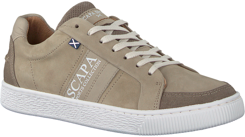 Taupe SCAPA Sneakers 10/4513CN  - larger